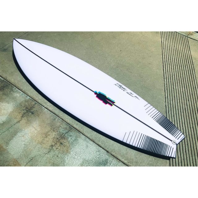 """Stoked surfer reports >> this just in (California small swell 2 week spell edition):    """"Hey Todd, can I tell you something. The MR fcs2 on the Pavarotti unreal, I mean like sticks straight to my feet.  Could be best board I've ever ridden.  I want to show you how much those fins make sense on this thing...it's dumb...Imma tell you that board is something...like nothing else."""" - Craig  5'6"""" x 19 3/4"""" x 2 7/16""""  #Pavarottisurfboard"""